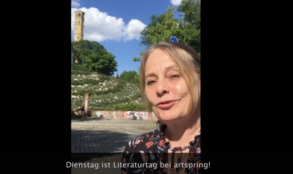 Trailer artspring audio – Uta Ackermann gibt eine Vorschau auf das Literaturprogramm