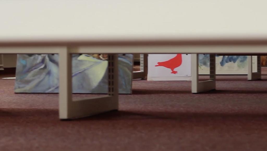 Trailer: artspring central I in der Bibliothek