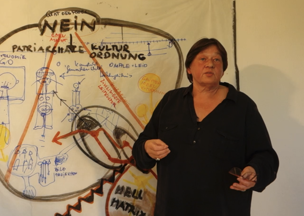 """Monika Maria Nowak, Vortrag: """"Weiblich gegründete Bildende Kunst""""."""