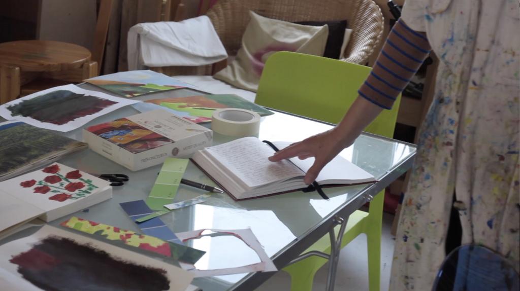 Ateliervideo Barbara Gockel eigenArt